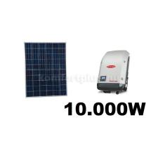 10 kWp rendszer Sharp napelem+ Fronius inverter napelem