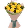 10 szál sárga rózsa