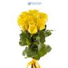 10 szálas sárga rózsa köteg