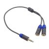 18050 3,5mm jack elosztó kábel 0,3m