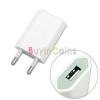220V USB töltő fehér