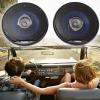 250W kétutas autós hangszóró - 160 mm