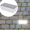 2 db LED földbe építhető izzó / kültéri lámpa 100 x 200 68 mm