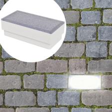 2 db LED földbe építhető izzó / kültéri lámpa 100 x 200 68 mm kültéri világítás