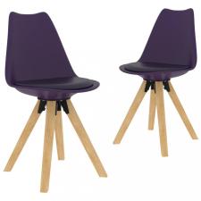 2 db lila étkezőszék bútor