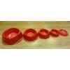 2 dl-es gumis műanyag etetőtál (SMAGSL-C)