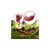 2 személyes színes függőágy hordtáskával 185x125cm - Piros-Sárga