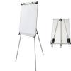 2x3 ECO mobil prezentációs flipchart tábla (fehér - mágneses)