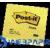 3M/POSTIT 76x76 öntapadó jegyzettömb sárga