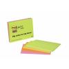 3M POSTIT Meeting chart, öntapadó, 4x45 lap, 14,9x9,8 cm, , vegyes színek