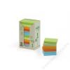 3M POSTIT Öntapadó jegyzettömb, 38x51 mm, 100 lap, környezetbarát, 3M POSTIT, pasztell szivárvány színek (LPK653-1RPT)