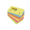 3M POSTIT Öntapadó jegyzettömb, 76x127 mm, 100 lap, , energikus színek
