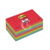 "3M POSTIT Öntapadó jegyzettömb, 76x127 mm, 90 lap, 3M POSTIT ""Super Sticky"", pipacs"