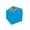"3M POSTIT Öntapadó jegyzettömb, 76x76 mm, 90 lap, 3M POSTIT ""Super Sticky"", kék"
