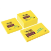"3M POSTIT Öntapadó jegyzettömb, 76x76 mm, 90 lap,  ""Super Sticky"", sárga"