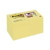 """3M POSTIT Öntapadó jegyzettömb csomag, 48x48 mm, 12x90 lap, 3M POSTIT """"Super Sticky"""", sárga"""