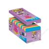 3M POSTIT Öntapadó jegyzettömb csomag, Z, 76x76 mm, 16x90 lap, 3M POSTIT, Super Sticky, vegyes (LPR330CS)