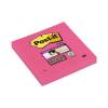 "3M POSTIT ""Super Sticky"" 76x76 mm 90 lapos pink öntapadó jegyzettömb"