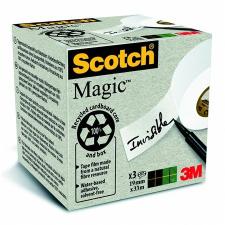 3M Scotch Ragasztószalag, 19 mm x 33 m, környezetbarát, 3M SCOTCH ragasztószalag