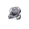 4 Baby Jungle Rezgő Pihenőszék - SZÜRKE