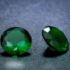 4 db csillogó cirkóniakő - smaragdzöld