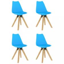 4 db kék étkezőszék bútor