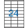 VICTORIA 3 pályás etikett, 70x35 mm, 2400 etikett/csomag