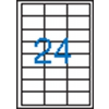VICTORIA 3 pályás etikett, 64,6x33,8 mm, 2400 etikett/csomag