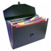 VIQUEL Rainbow Class 12 rekeszes harmonika táska, fekete