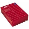 APLI 1 pályás mátrix etikett, 73,7 x 36 mm, 4000 etikett/csomag