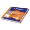 Verbatim DVD-R 4,7 GB, 16x, normál tokban, szélesen nyomtatható, matt,