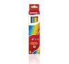 KORES TRIANGULAR színes ceruza, háromszögletű, 6 db/doboz színes ceruza