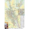 Stiefel Eurocart Kft. Eger térkép fémléces,fóliázott