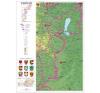 Stiefel Eurocart Kft. Burgenland térképe (német) térkép