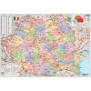 Stiefel Eurocart Kft. Románia politikai térképe (román nyelvű)