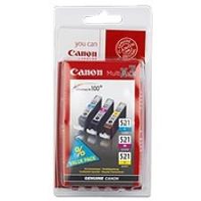 Canon CLI-521 Multipack nyomtatópatron & toner