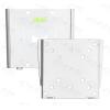 Multibrackets fali rögzítő LCD/PLAZMA/LED konzol, fix ezüst színű, Vesa  75x75 100x100