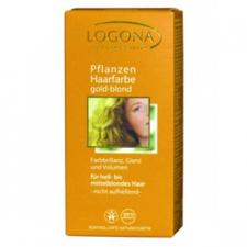 Logona növényi hajfesték - aranyszőke hajfesték, színező