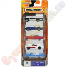 Matchbox Matchbox Kisautók 5 db-os autópálya és játékautó