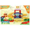 Wader : Kid Cars 3D kétszintes parkolóház