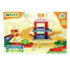 Wader : Kid Cars 3D kétszintes parkolóház autópálya és játékautó