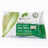Dr.Organic bio aloe vera nedves törlőkendő