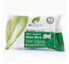 Dr.Organic bio aloe vera nedves törlőkendő egészség termék