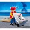 Playmobil Dokkmunkás görgős anyagmozgatóval - 4475