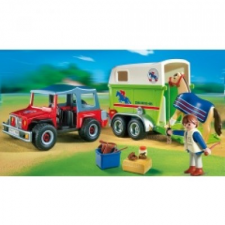 Playmobil Terepjáró lószállító konténerrel - 4189 playmobil
