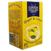 London Fruit & Herb tea 40 g citrom-gyömbér ízű
