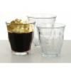 Retro kávés üvegpohár