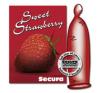 Secura Secure édes eper óvszer
