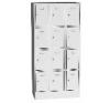 K2463/12 12 ajtós értékmegőrző szekrény biztonságtechnikai eszköz