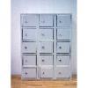 K6750 15 ajtós kisméretű értékmegőrző szekrény
